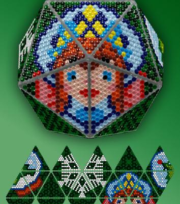 Набор для вышивания Вдохновение IP149 Снегурочка стилус