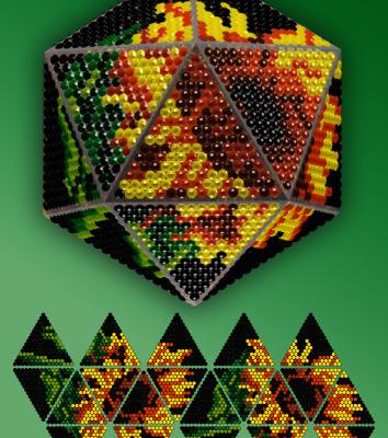 Набор для вышивания Вдохновение IP003-B Подсолнухи на черном стилус