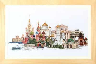 Набор для вышивания Thea Gouverneur 510А Москва