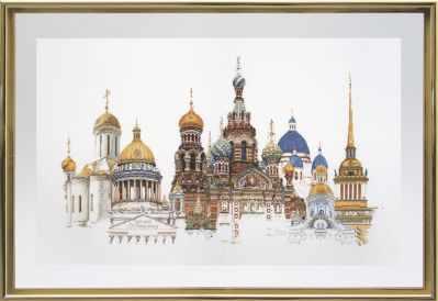 Набор для вышивания Thea Gouverneur 430А Санкт-Петербург