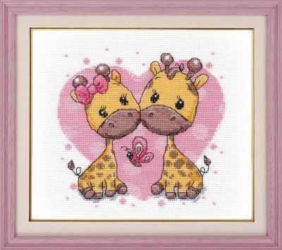 1275 Влюбленные жирафики