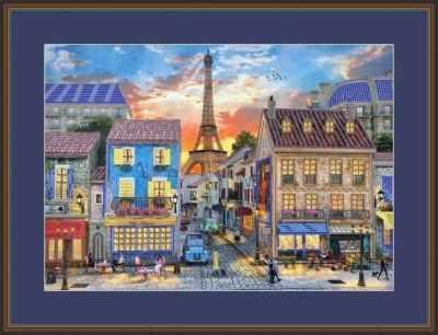Основа для вышивания с нанесенным рисунком Матрёшкина КАЮ6006 Город грез