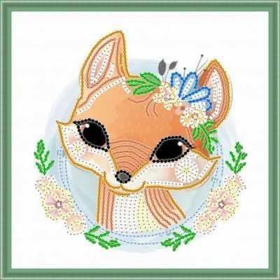 Основа для вышивания с нанесенным рисунком Матрёшкина КАЮ6016 Лисичка основа для вышивания с нанесенным рисунком матрёшкина каю6016 лисичка