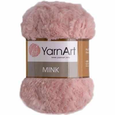 Пряжа YarnArt Пряжа YarnArt Mink Цвет.341 Розовый