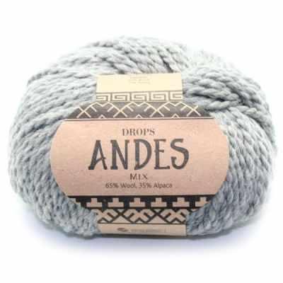 Пряжа DROPS Пряжа DROPS Andes Цвет.9015m