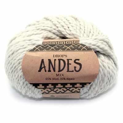 Пряжа DROPS Пряжа DROPS Andes Цвет.9020