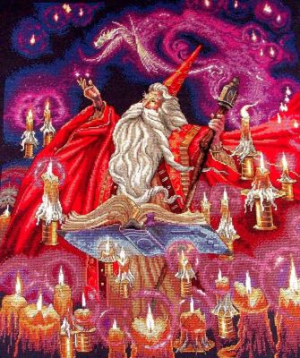 35141 DMS Красный волшебник