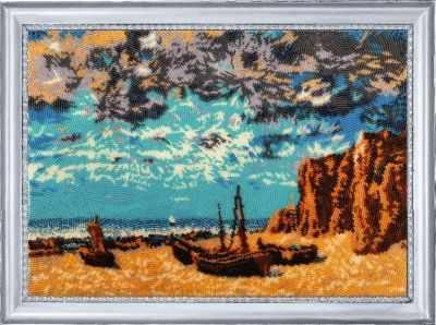 Набор для вышивания Butterfly 395 Лодки на берегу