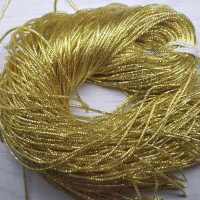 Каталог Хрустальные грани ТК006НН1 Упаковка Трунцал Желтое золото 1,5 мм, 5 грамм +/- 0,1 гр.