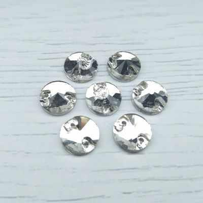 Каталог Хрустальные грани РИ004НН10 Хрустальные стразы Белый (без покрытия) 10 мм, 10 шт.