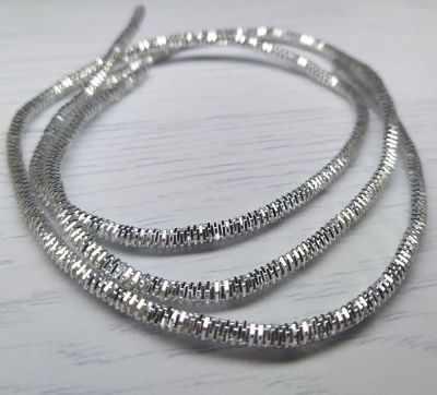 Каталог Хрустальные грани ТК002НН3 Упаковка Трунцал Серебро 3 мм 5 грамм +/- 0,1 гр.