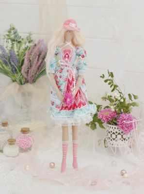 Набор для изготовления игрушки HappyMade ШС100 Набор для шитья и рукоделия Мисс Клаудия