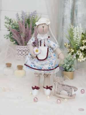 Набор для изготовления игрушки HappyMade ШС123 Набор для шитья и рукоделия Зайка Фэйт набор для творчества цветница набор для шитья текстильной игрушки зайка романтик