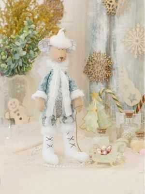 Набор для изготовления игрушки HappyMade ШС124 Набор для шитья и рукоделия Санта Маус