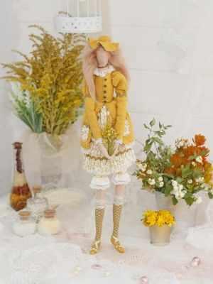 Набор для изготовления игрушки HappyMade ШС107 Набор для шитья и рукоделия Леди Аврора