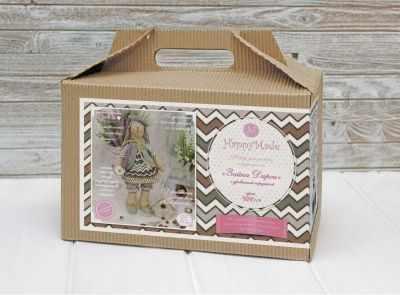 Набор для изготовления игрушки HappyMade ШС119 Набор для шитья и рукоделия Зайка Дарси набор для творчества цветница набор для шитья текстильной игрушки зайка романтик