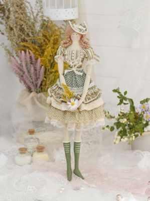 Набор для изготовления игрушки HappyMade ШС102 Набор для шитья и рукоделия Мисс Глория