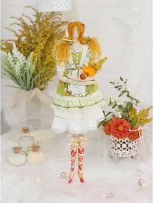 Набор для изготовления игрушки HappyMade ШС104 Набор для шитья и рукоделия Фрау Марта
