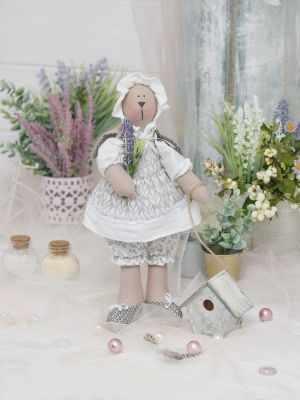 Набор для изготовления игрушки HappyMade ШС120 Набор для шитья и рукоделия Зайка Элла набор для творчества цветница набор для шитья текстильной игрушки зайка романтик