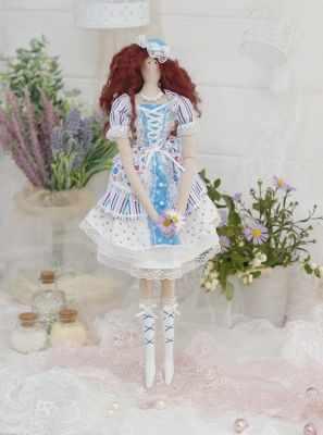 Набор для изготовления игрушки HappyMade ШС101 Набор для шитья и рукоделия Леди Камелия