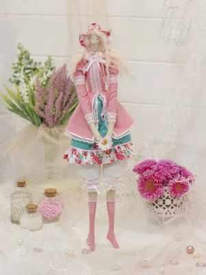 Набор для изготовления игрушки HappyMade ШС108 Набор для шитья и рукоделия Леди Амелия
