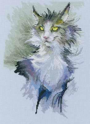 Набор для вышивания РТО M803 Не стоит гладить кошку против шерсти