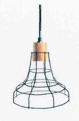 Набор для вышивания РТО M801 Светильник в стиле лофт