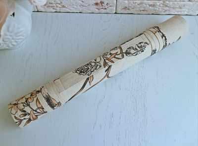 Ролл для вышивки Arapova A. Магнолия, коричневый - ролл для вышивки