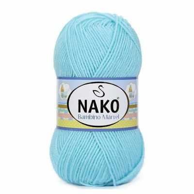 Пряжа Nako Пряжа Nako Bambino Marvel Цвет.10535