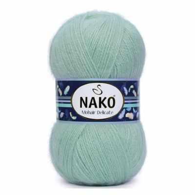 Пряжа Nako Пряжа Nako Mohair delicate Nako Цвет.10023