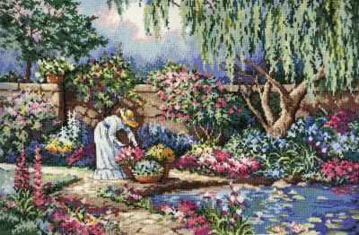 Набор для вышивания Classic Design 4481 Любимый сад