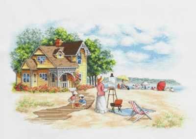 Набор для вышивания Classic Design 4478 Дом на берегу