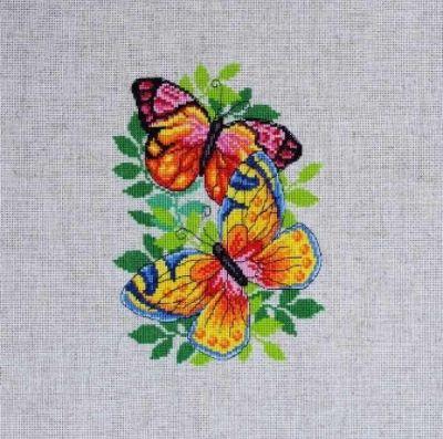 Набор для вышивания Dantel 052 d БАБОЧКИ