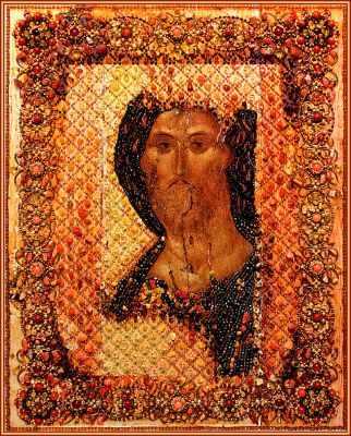 Набор для вышивания иконы Образа в каменьях 7753 Спаситель (Храмовая икона)