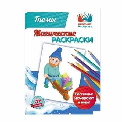 Набор для детского творчества Академия мастерства МР-08 Магические раскраски Гномы
