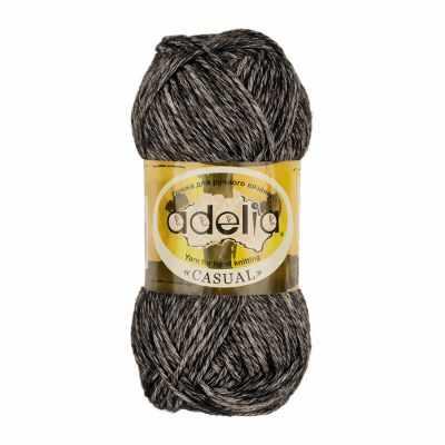 Пряжа Adelia Casual Цвет.01 Черный