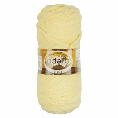 Пряжа Adelia Пряжа Adelia Mimi Цвет.15 Бледно желтый