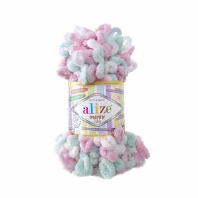 Пряжа Alize Пряжа Alize PUFFY COLOR Цвет.6052