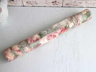 Ролл для вышивки Arapova A. Ретро розы/мохито - ролл для вышивки