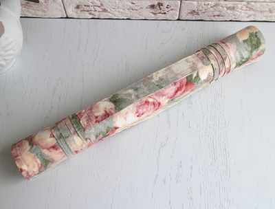 Ролл для вышивки Arapova A. Ретро розы/молочный - ролл для вышивки