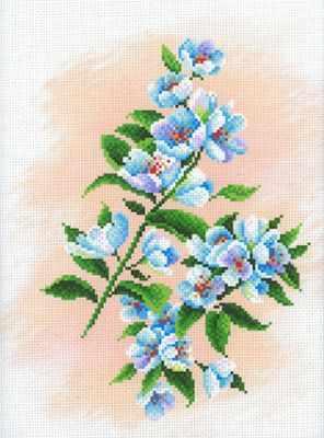 Основа для вышивания с нанесённым рисунком МП Студия СК-058 Яблоневый сад (МП Студия)