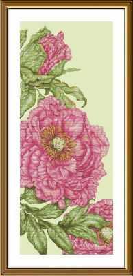 Набор для вышивания Nova Sloboda СВ6237 Розовые маки риолис набор для вышивания 1775 розовые маки