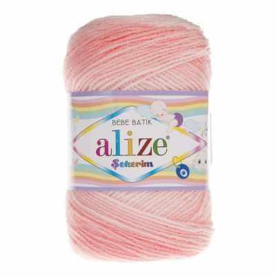 Пряжа Alize Пряжа Alize Sekerim Bebe Batik Цвет.6319 комбинезон утепленный для девочки batik торопыжка цвет розовый 147 19з размер 86