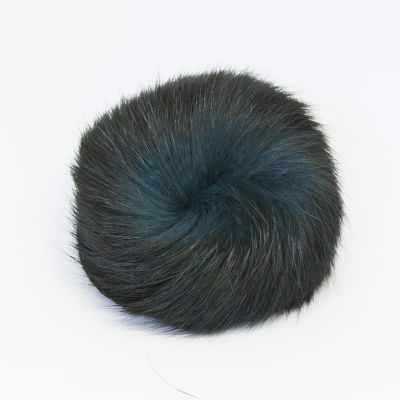 цена Помпон - Помпон D9 мех кролик Цвет.35 Изумруд онлайн в 2017 году