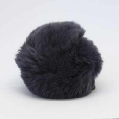цена Помпон - Помпон D9 мех кролик (рекс) Цвет.10 Серо-голубой онлайн в 2017 году