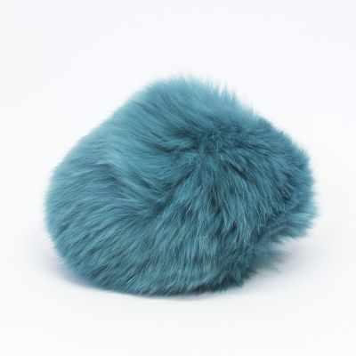 Помпон - Помпон D9 мех кролик (рекс) Цвет.25 Бирюза