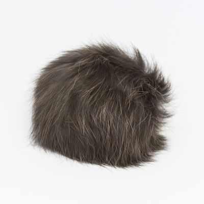 Помпон - Помпон D9 мех кролик Цвет.08 Темно коричневый