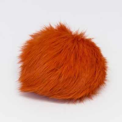 Помпон - Помпон D9 мех кролик Цвет.22 Оранжевый