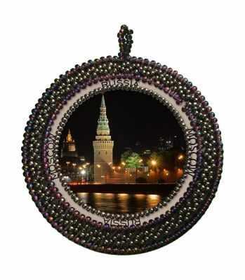 Набор для вышивания Nova Sloboda РВ4017 Москва