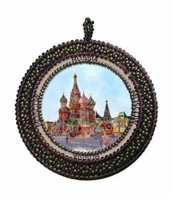 Набор для вышивания Nova Sloboda РВ4008 Москва